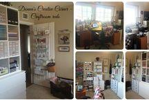 Craftroom Re-Do 2016 / Getting organized! https://www.facebook.com/donnascr8tivecorner/