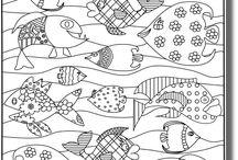 poissons et mer maternelle