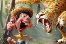 Cartoon characters by Tiago Hoisel. / Cartoon characters by Tiago Hoisel.  -----------------------------------------------------------------------------  SULEMAN.RECORD.ARTGALLERY: https://www.facebook.com/media/set/?set=a.388745068002185.1073741895.286950091515017&type=3  Technology Integration In Education: