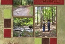 Outdoor photo layouts