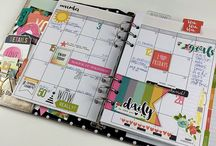 Planners ....staying organized beautifully