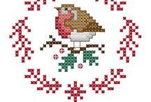 bordados de navidad