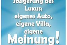 Luxus Sprüche / Sprüche zum Thema Luxzs