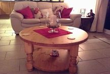 Coffee tables / Pine coffee tables, round coffee tables, waxed coffee tables and custom made coffee tables.