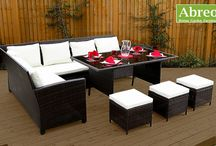 Rattan Garden Furniture Dining Sets / Dining sets made from Rattan, perfect for entertaining in the garden.