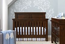 - Timber Lake Collection - / Designed with the clean lines reminiscent of Mission style furniture and rethought for today's young families, the Timber Lake Collection is timeless yet distinctive, and perfect for your nursery room! Includes a 4-in-1 convertible crib, toddler guard rail, full size bed rails, double dresser, changing topper, bookcase, chifforobe, and nightstand. All pieces sold separately.