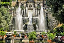 Italy / Architecture, landscapes and gardens, art, food and beautiful sites.
