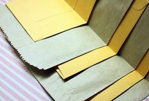 Paper bags mini albums