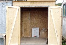 Build Insulated Poultry Coop or Hen Coop / How to build an insulted and heated hen coop ? ►1: Heated hen house for winter (Part 1.)  ►2: Insulated chicken coop for winter (Part 2.)  ►3: Laying Hens in heated poultry coop  ►4: Heated bowl for winter season