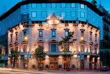 Hotel Claris, Barcelona / Occupying #Barcelona's Palacio Vedruna, Hotel Caliris is a former palace that dates back to the twentieth century, which was remodeled in 1992