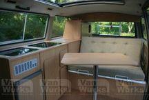 vw T25 interiors