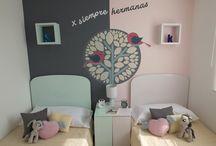 Decoración para habitaciones de niñas / Decoración e ideas para habitaciones de niñas, proyecto nuestro de decoración.