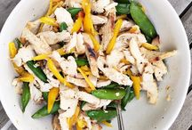 healthy easy dinners / Clean Eating Quick Dinners