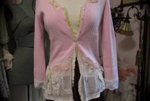 Shabby chic woman clothes