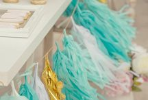 Garlandes / Garlandes de paper i roba per decorar