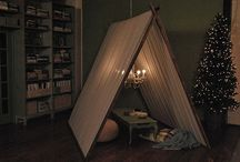 GOTTA LUV FORTS! / How to make various kinds of forts.. inside and outside.  What child doesn't like to make a fort?  <3