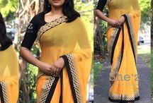 Customised sarees