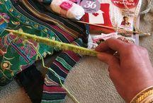 Knitting - Secret Scarf Event