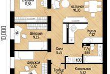 ПЛАНЫ квартир домов