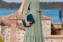 basic dress hijab