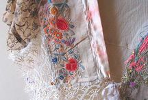 Antique linen and costume