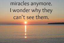 Faith & Miracles