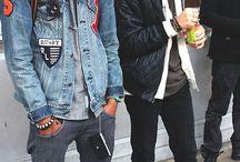 Street fashion / street style