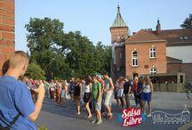 Salsa Libre w Milanówku / Kursy , imprezy i animacje Salsa Libre w Willi Borówka w Milanówku