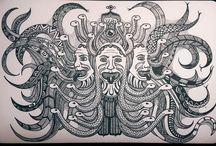 Nello Caiazza - Masonry / Massoneria Creativa / Illustrations of Nello Caiazza - Masonry / Massoneria Creativa