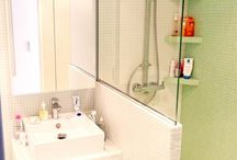 small space shower room
