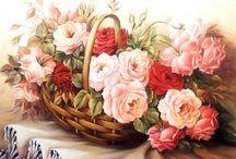 Цветочная живопись