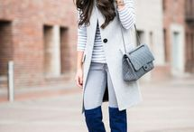 Outfits - Over the knee boots