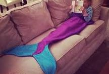 Bolsas o cobertores estilo sirena