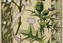 Floral nouveau designs