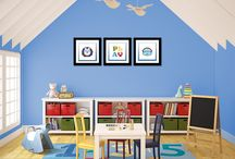 Ideas & Inspiration | Playroom / Decorating ideas for a children's playroom