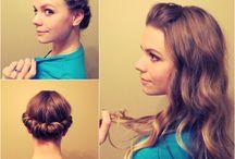 Curl hair/no heat / by Pamela Guthrow