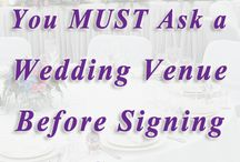 Weddings - Questions to ask