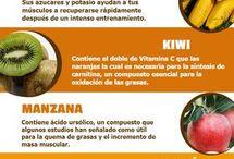 frutas aumentar masa