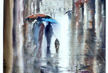 Sateenvarjotauluja