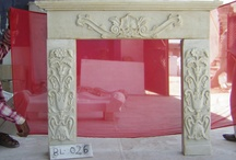 marble fire place