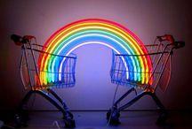 Rainbows  / Happy rainbow colours