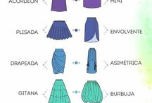 Tipos de faldas