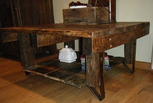 Reclaimed barn board projects / by Janice Sherven