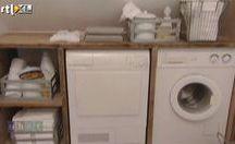 Ombouw wasmachine en droger
