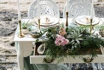 whimsy romance / we provide the table + the inspiration for:  whimsical, romantic tablescape