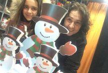 christmas figure cutters / decoration, party, surprises!