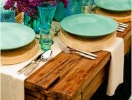 Entertaining / Tablescapes and event planning for friends & family.  / by Adele B