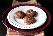 Chocolate pecanturtles