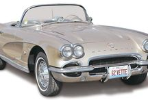 Chevy Corvettes / Chevy Corvette plastic model kits, FROM REVELL. From the fabulous '50s through today!