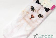 Ruházat / Színes vagy monokróm... Minden ruhánk macskás!